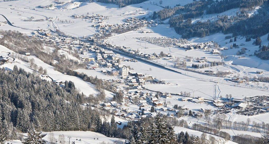 Brixen im Thale winter