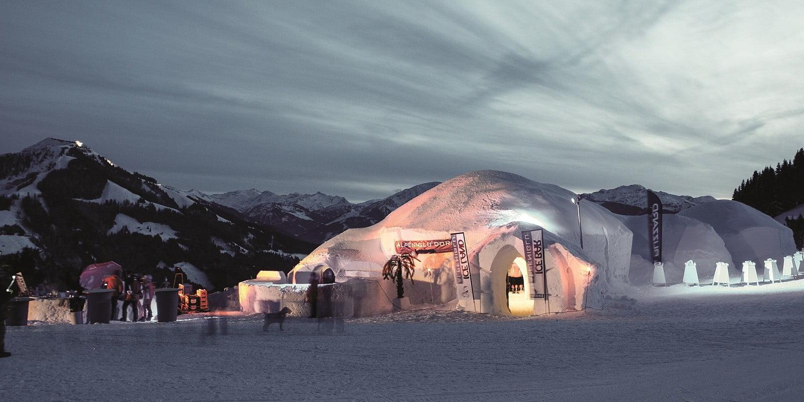 Brixen im Thale skigebied iglo
