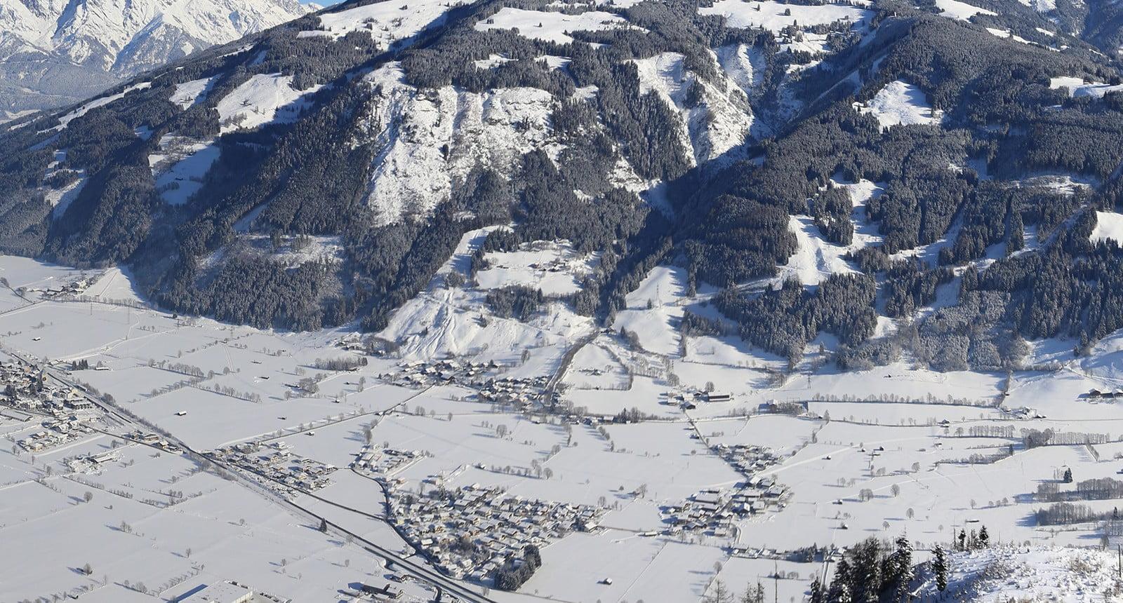 Maishofen winter