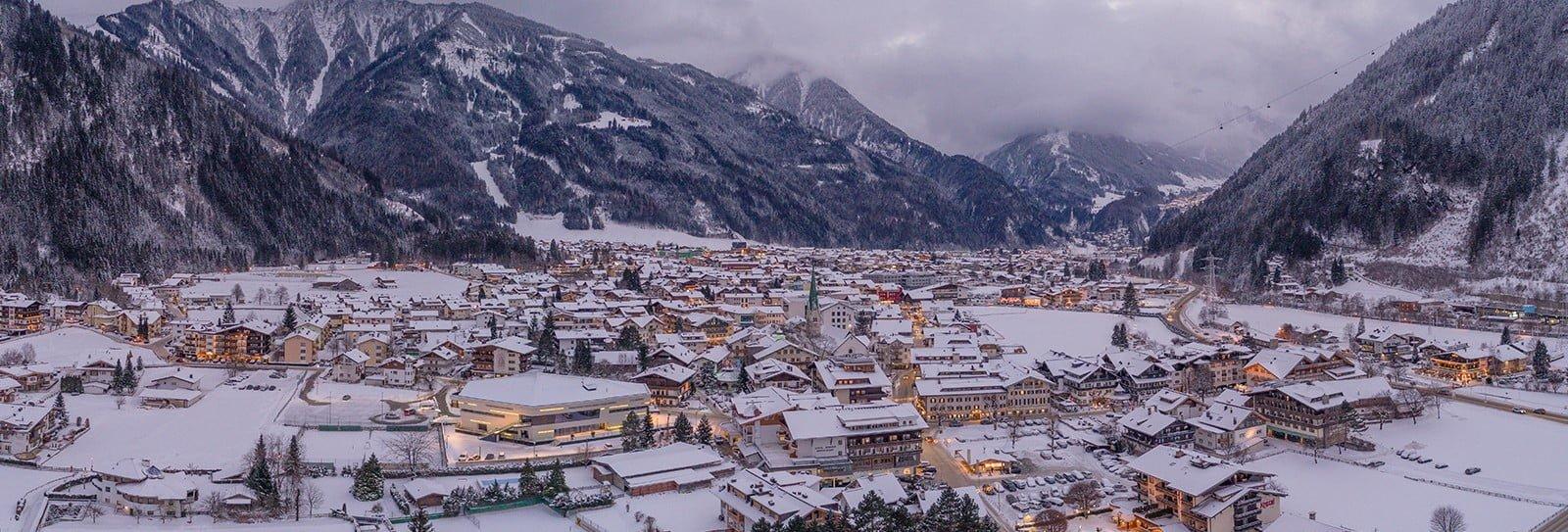 Mayrhofen panorama