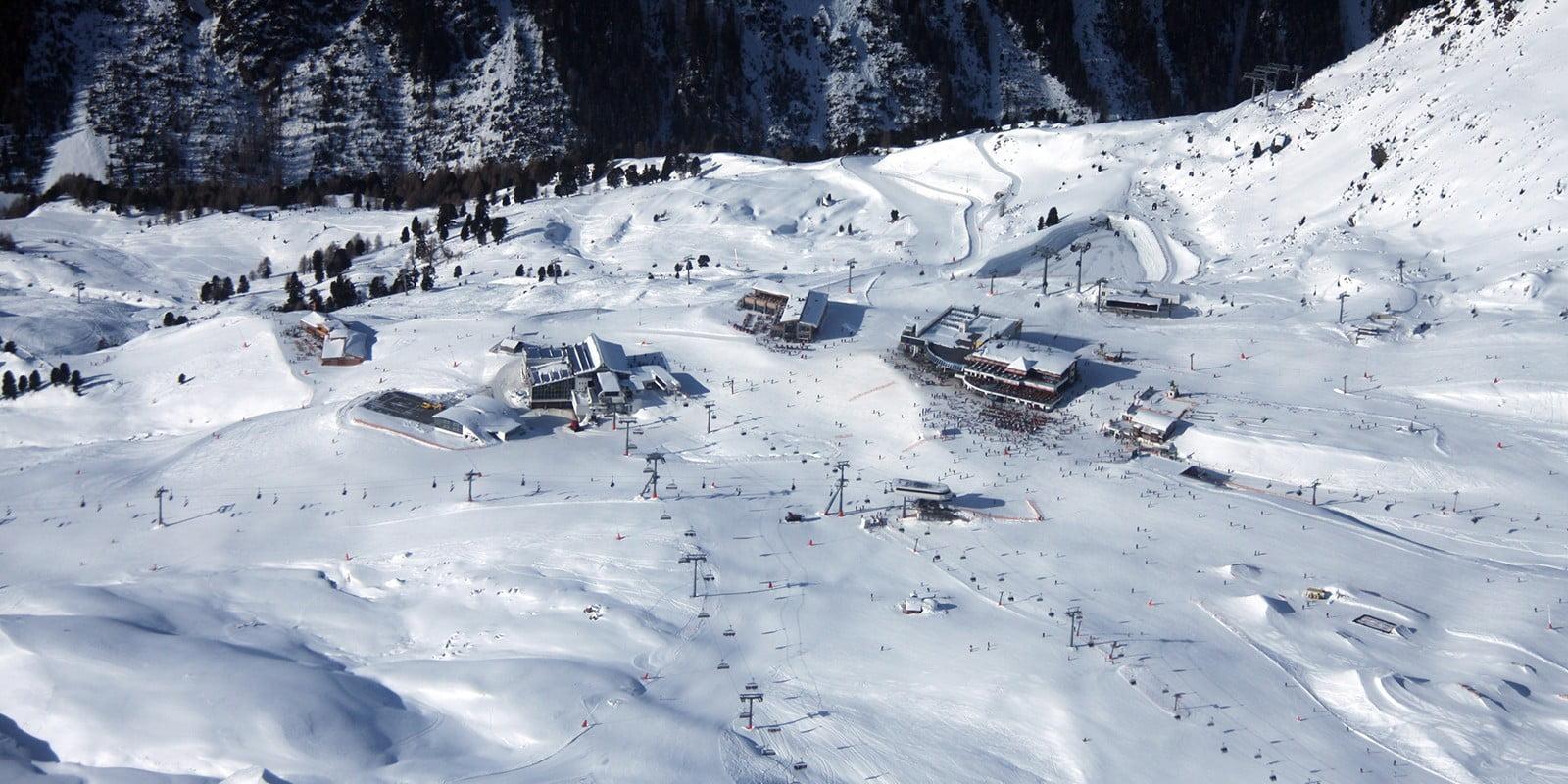 Silvretta Arena uitzicht