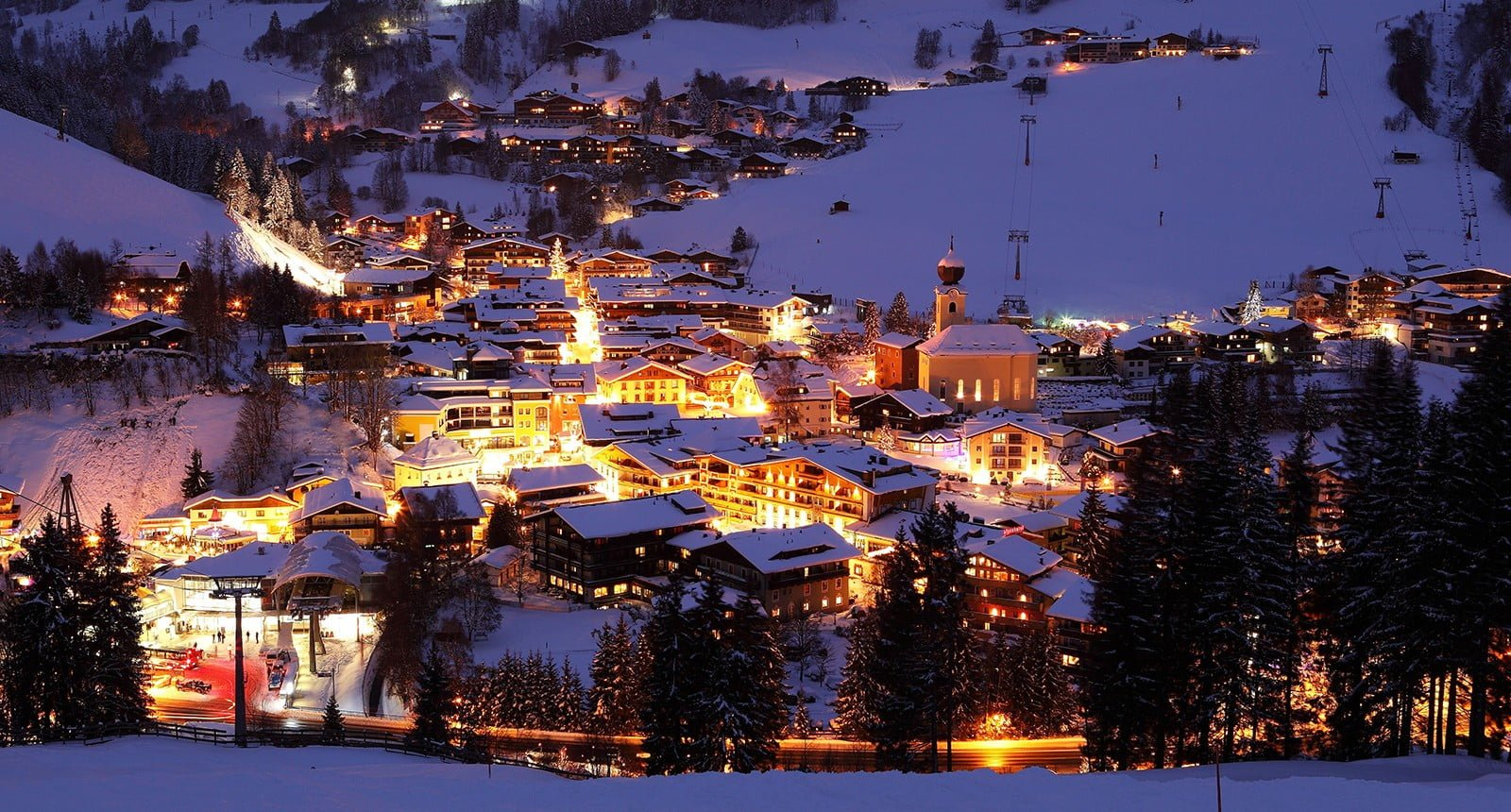 Saalbach winter