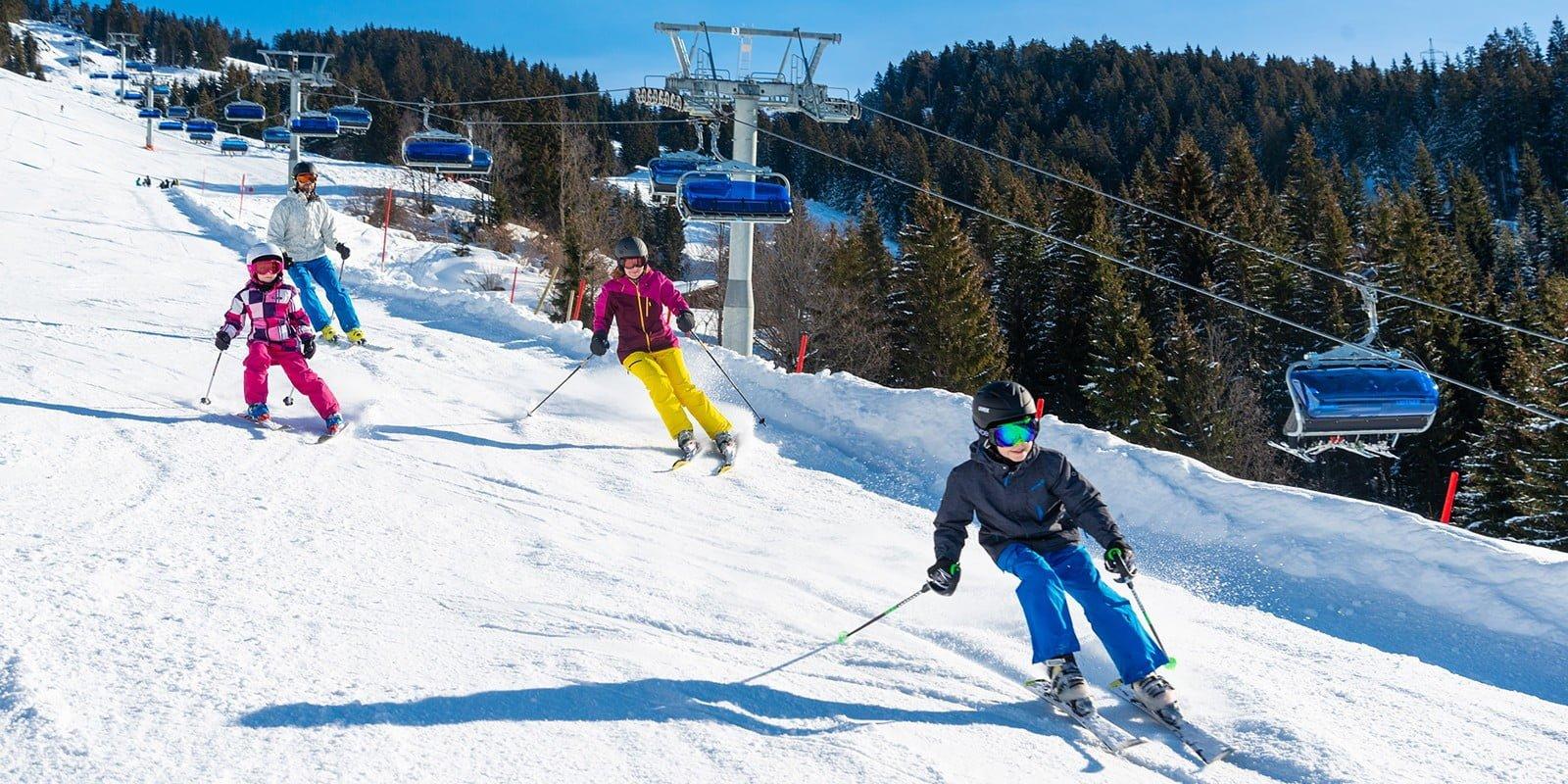 Skiwelt Wilder Kaiser Familie