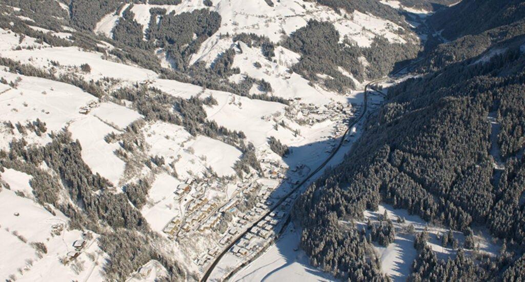 Viehhofen winter