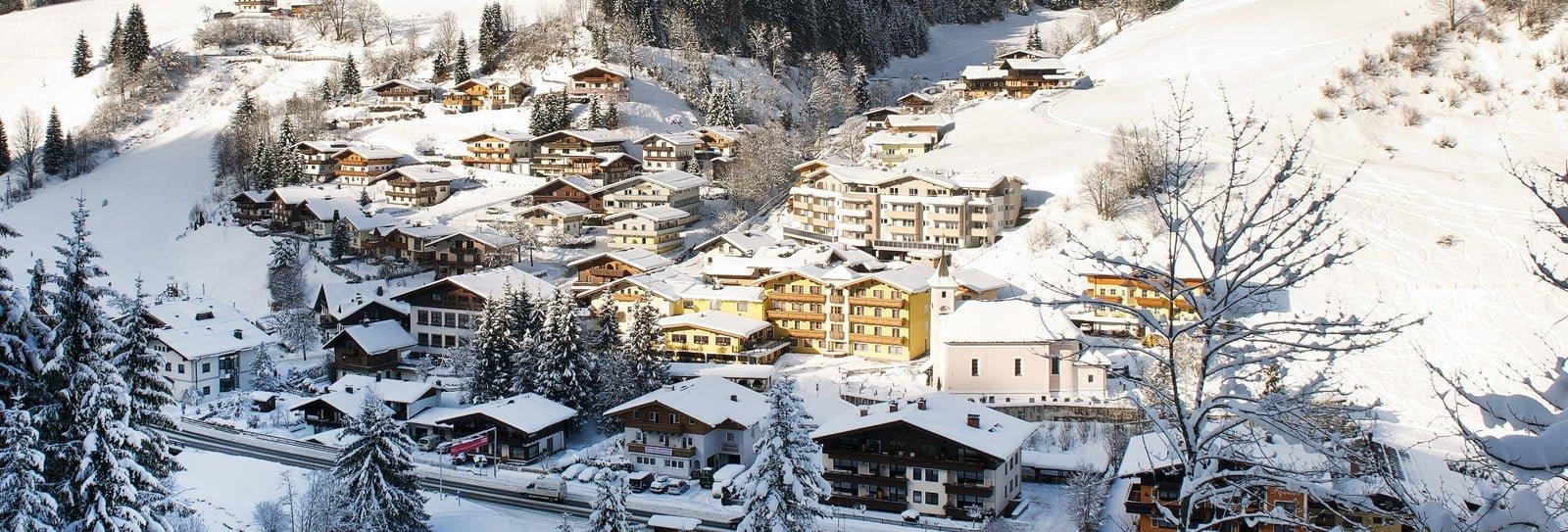 Viehhofen panorama