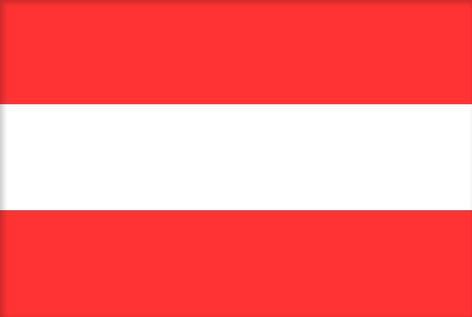 Vlag Oostenrijk Opsneeuwvakantie