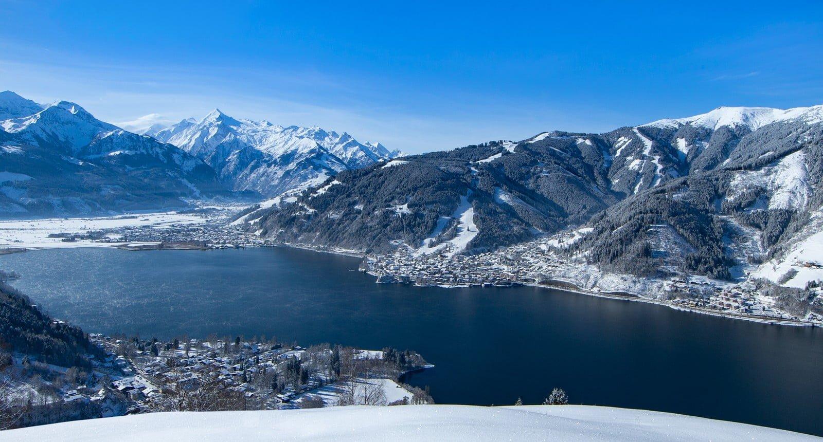 Zell am See winter