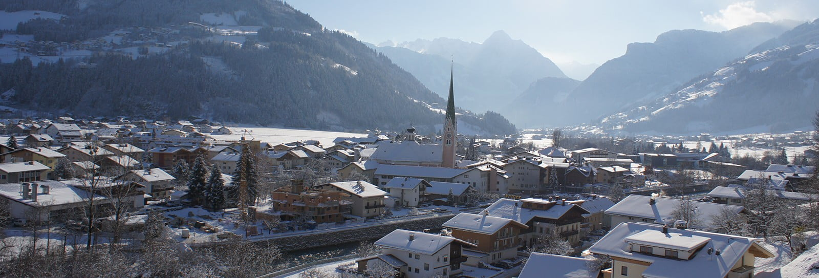 Zell am Ziller panorama