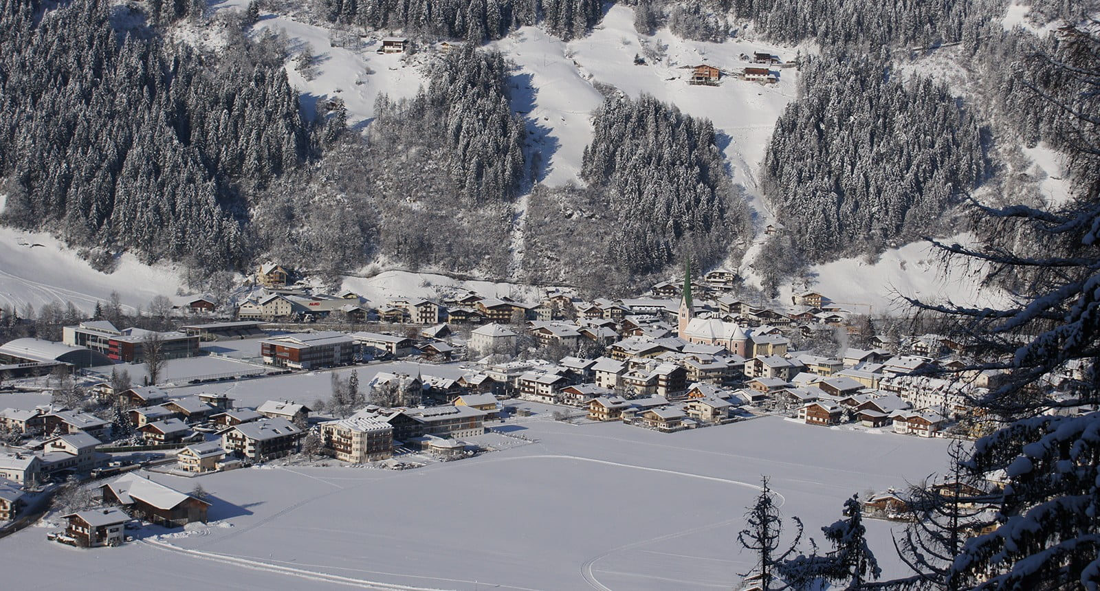 Zell am Ziller winter