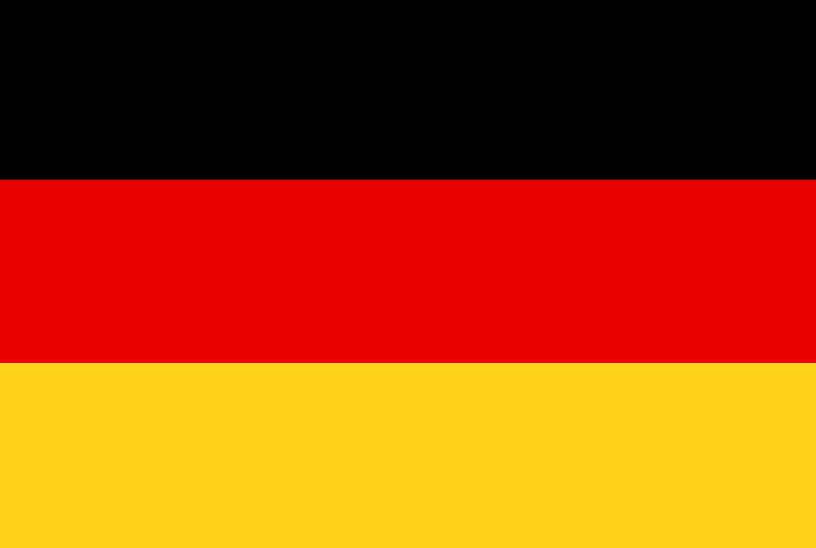 Vlag Duitsland Opsneeuwvakantie
