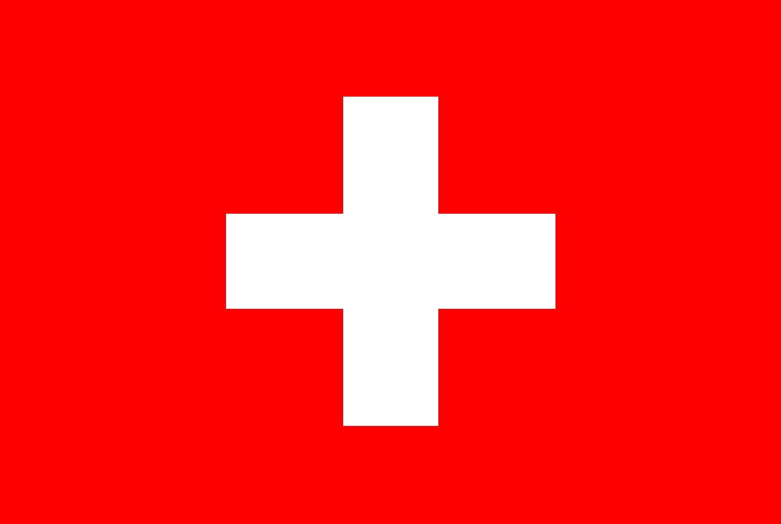 Vlag Zwitserland Opsneeuwvakantie