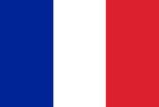 Vlag Frankrijk Opsneeuwvakantie
