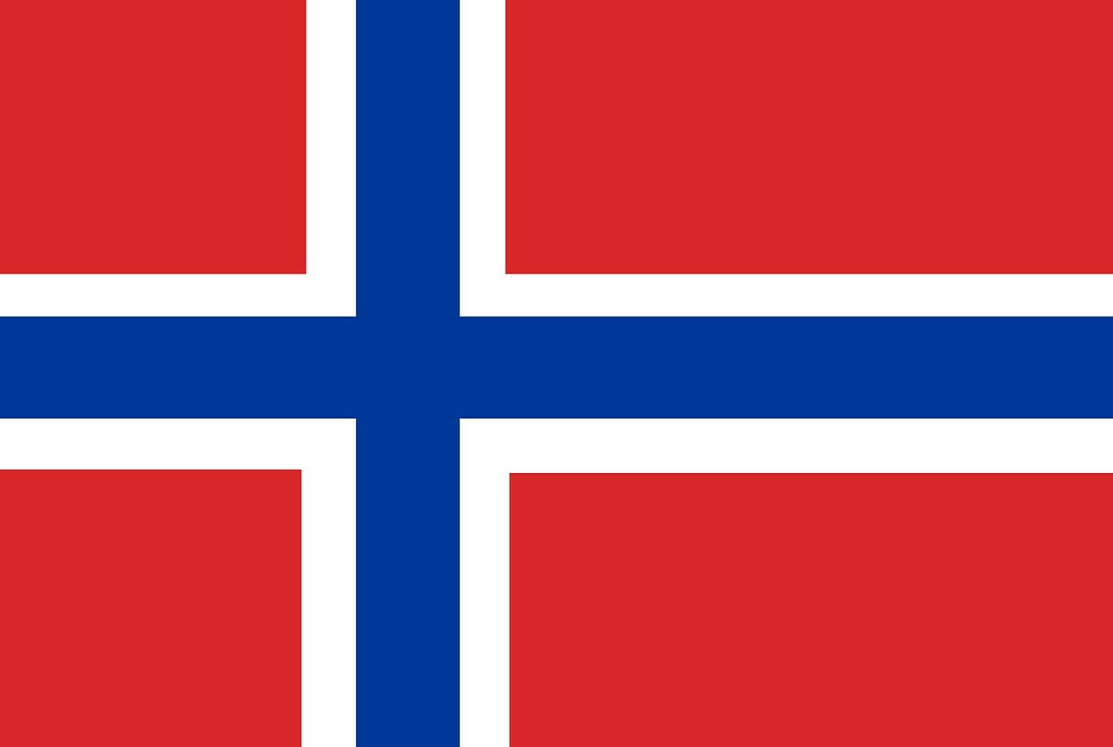 Vlag Noorwegen Opsneeuwvakantie