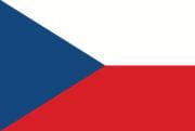 Vlag Tsjechië Opsneeuwvakantie
