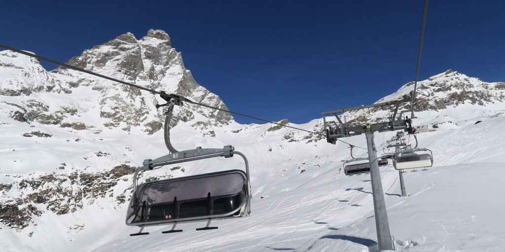 Breuil Cervinia skilift
