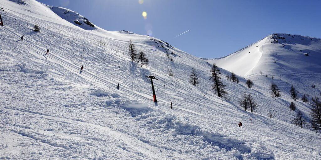 Bardonecchia skilift
