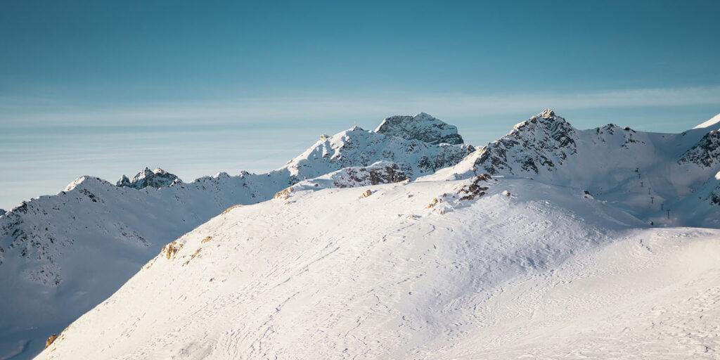 Engadin Sankt Moritz uitzicht bergen