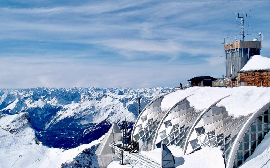 Garmisch partenkirchen zugspitze uitzicht