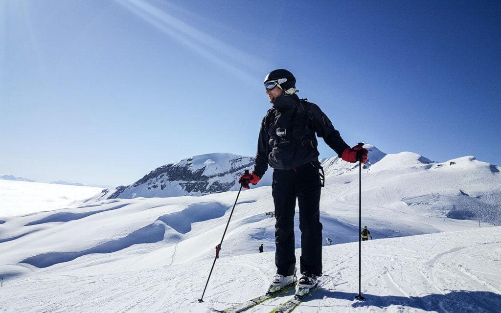 Le grand massif skigebied