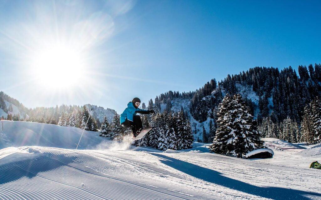 Les portes du soleil skigebied