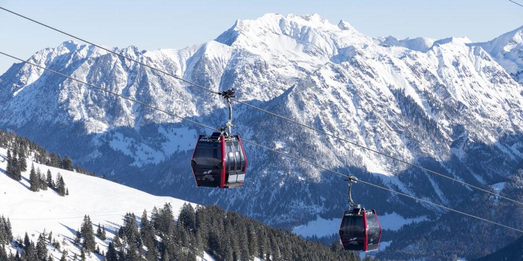 Oberstdorf skilift